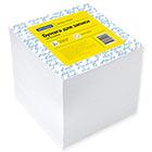 Блок для записей 90х90х90 мм белый проклеенный Office Space кубик 1000 листов